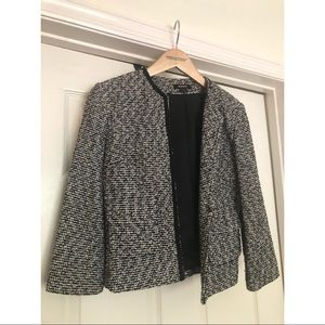 Express tweed fitted blazer. Size 4.